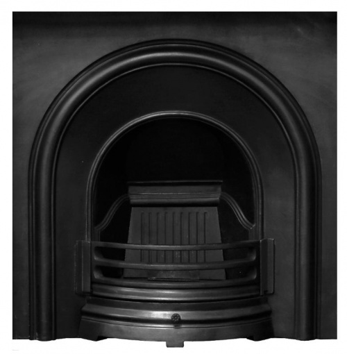 Celtic Arch Cast Iron Fireplace Insert