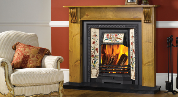 Victorian Tiled Insert Fireplaces