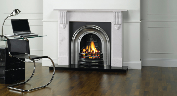 Classical Arched Insert Fireplaces